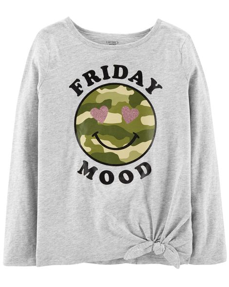 Display product reviews for Friday Mood Tie Waist Tee