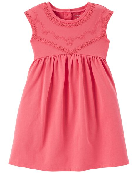 Display product reviews for Embroidered Babydoll Dress
