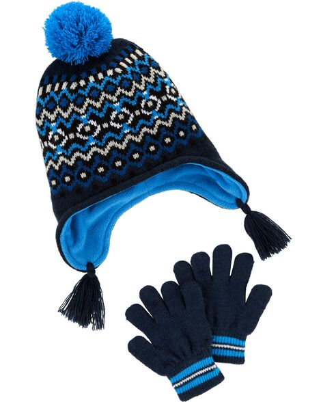 Display product reviews for Fair Isle Hat & Glove Set