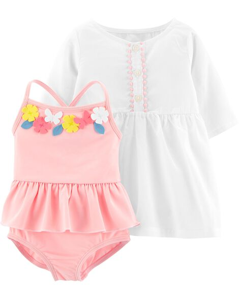 320aa845a6 Baby Girl Swimsuits, Bathing Suits & Swimwear | Carter's | Free Shipping