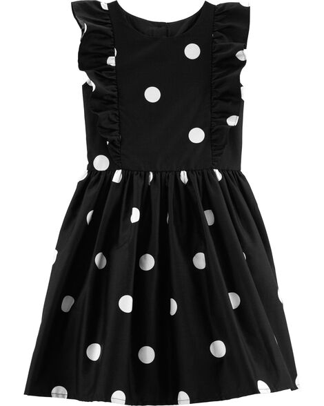 Display product reviews for Polka Dot Ruffle Holiday Dress
