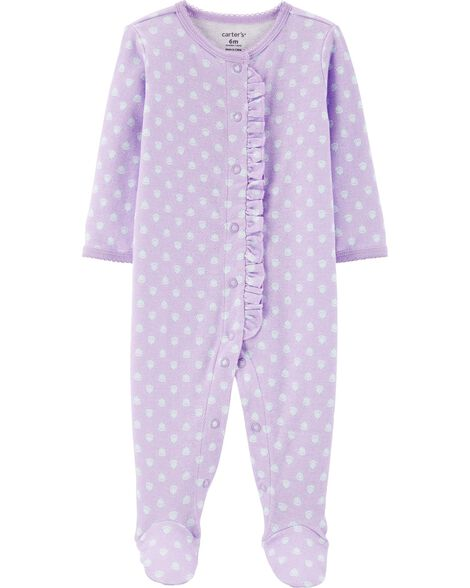 9c1fac9fdd7 Display product reviews for Floral Snap-Up Cotton Sleep & Play