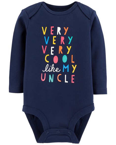 Display product reviews for Cool Like My Uncle Collectible Bodysuit