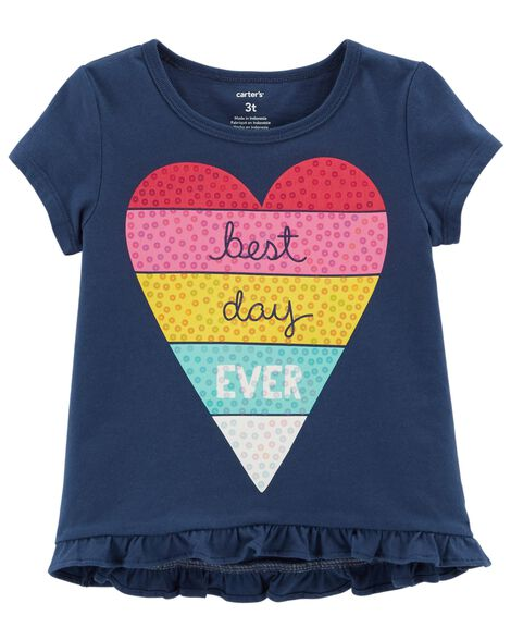 Display product reviews for Best Day Ever Hi-Lo Tee