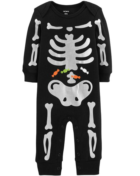 Display product reviews for Halloween Skeleton Jumpsuit