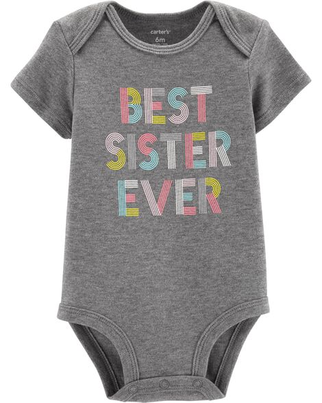 Display product reviews for Best Sister Ever Collectible Bodysuit