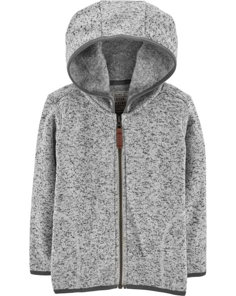 Display product reviews for Zip-Up Fleece-Lined Hoodie