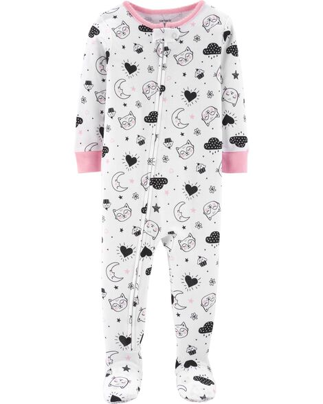 Display product reviews for 1-Piece Moon Snug Fit Cotton PJs