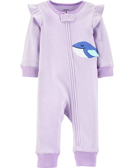 4dde992675 Display product reviews for Whale Zip-Up Footless Sleep   Play