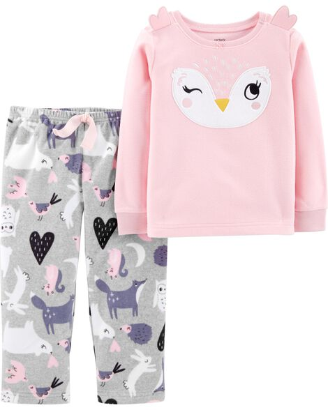 Display product reviews for 2-Piece Owl Fleece PJs