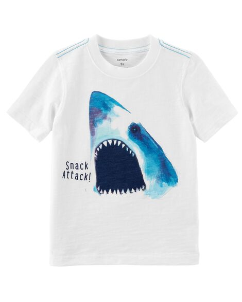 Display product reviews for Shark Attack Slub Jersey Tee
