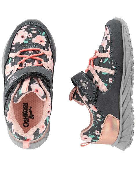 Display product reviews for OshKosh Floral Athletic Sneakers