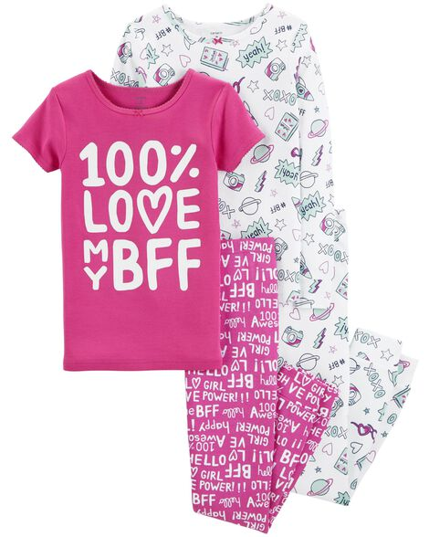 bab860f20d Display product reviews for 4-Piece BFF Snug Fit Cotton PJs