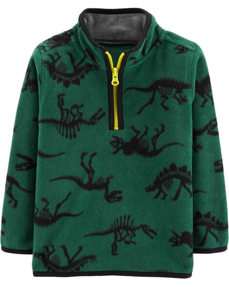 Display product reviews for Dinosaur Half-Zip Fleece Pullover