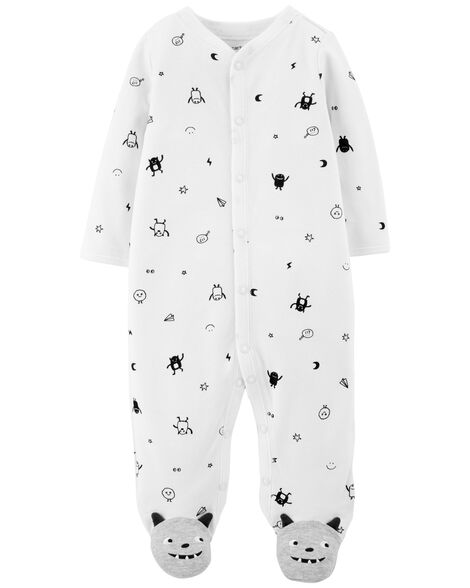Display product reviews for Monster Snap-Up Cotton Sleep & Play