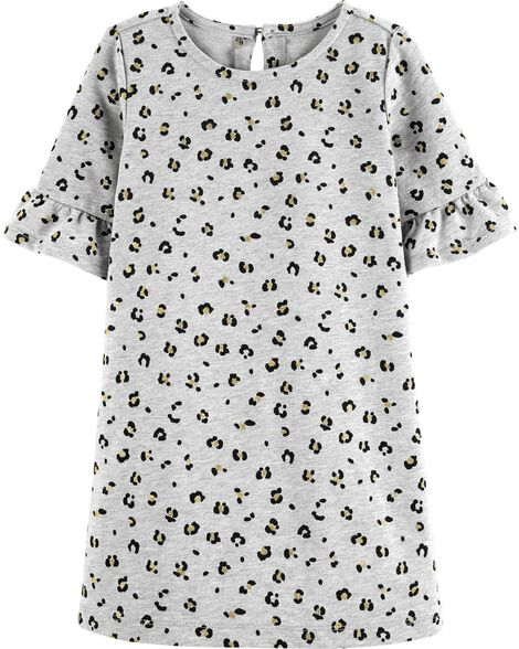 Display product reviews for French Terry Cheetah Dress