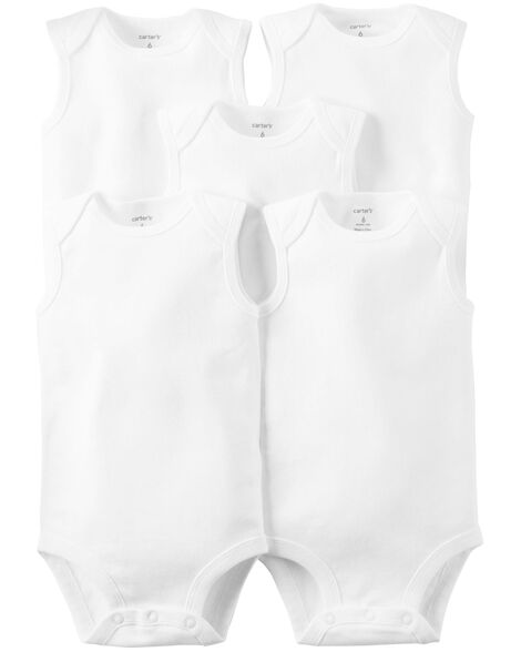Display product reviews for 5-Pack Sleeveless Original Bodysuits