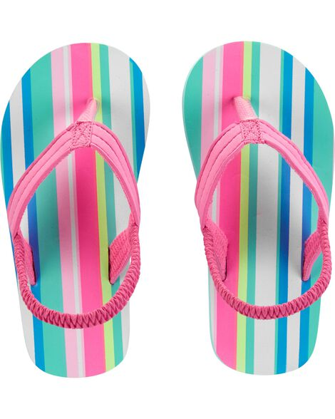 Display product reviews for Carter's Striped Flip Flops