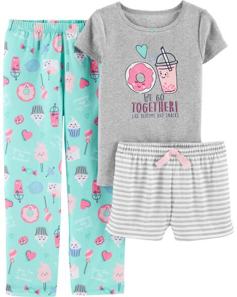 Display product reviews for 3-Piece Donut Poly PJs