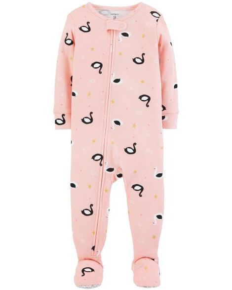 Display product reviews for 1-Piece Swan Snug Fit Cotton PJs