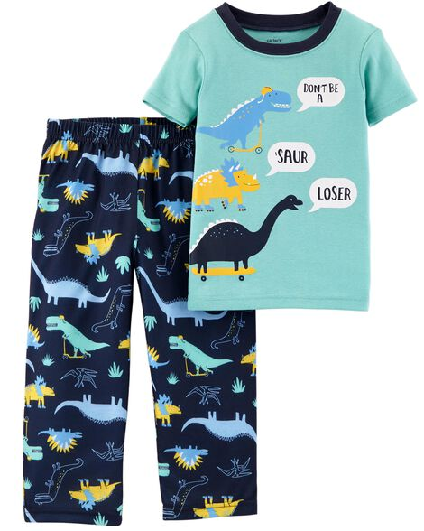 5dfe89dcf5 Display product reviews for 2-Piece Dino Cotton   Poly PJs