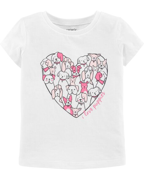 64e31e2e01c Display product reviews for I Love Puppies Jersey Tee