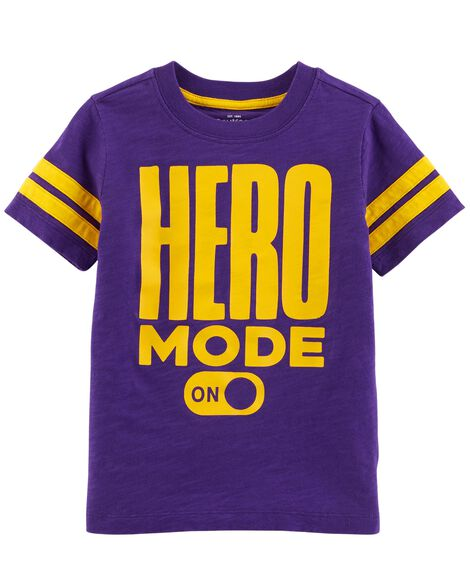 Display product reviews for Hero Mode Tee