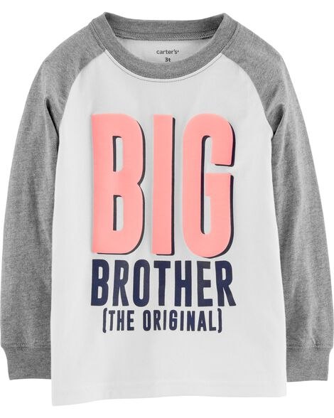 5afd4752 Toddler Boy Shirts, Big Brother Shirt for Toddlers | Carter's | Free ...