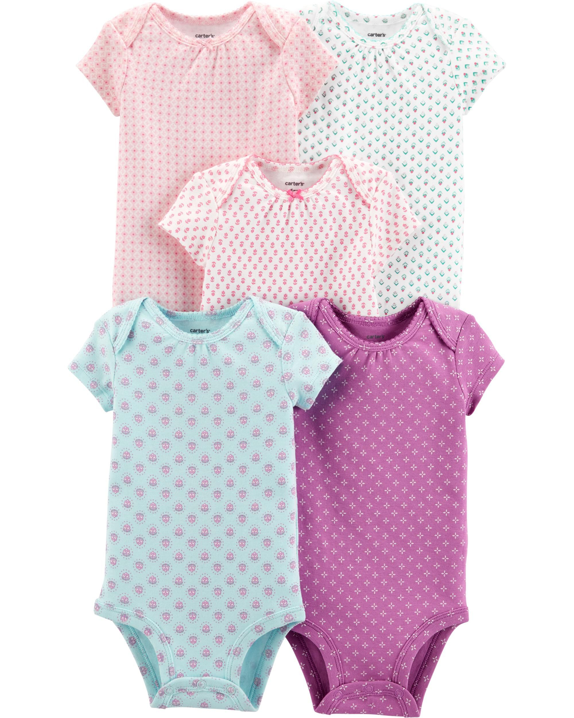 Babygrows & Playsuits Hearty Girls All In One Age 0-3 Months 3 Pack Girls' Clothing (0-24 Months)