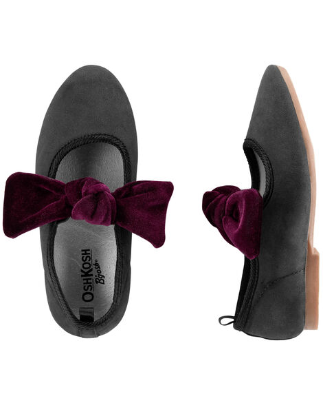 Display product reviews for OshKosh Bow Ballet Flats