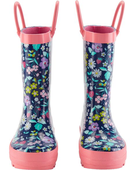 Display product reviews for Carter's Floral Rain Boots