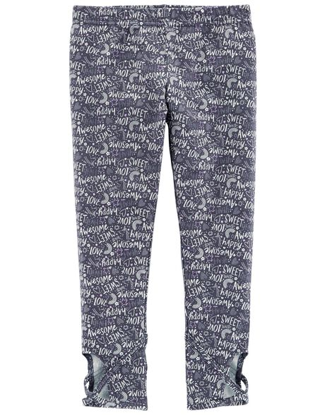 Display product reviews for Slogan Cut-Out Leggings