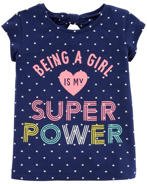 Display product reviews for Super Girl Jersey Tee
