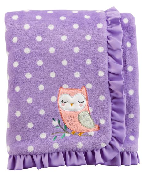 Display product reviews for Owl Plush Blanket