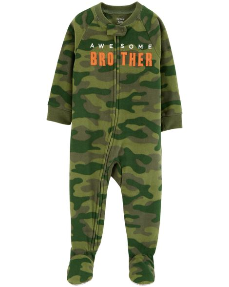 Display product reviews for 1-Piece Brother Fleece PJs