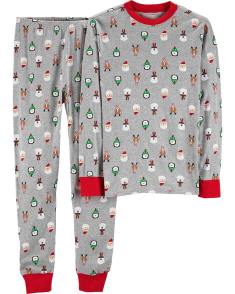 Display product reviews for 2-Piece Adult Christmas Cotton PJs