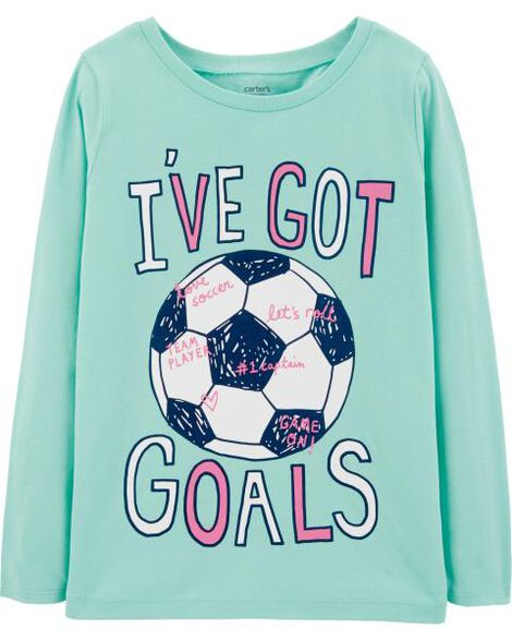 Display product reviews for I've Got Goals Soccer Tee
