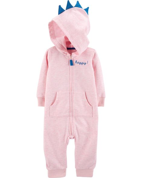 Display product reviews for Hooded Dinosaur Jumpsuit
