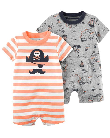 Display product reviews for 2-Pack Pirate Rompers