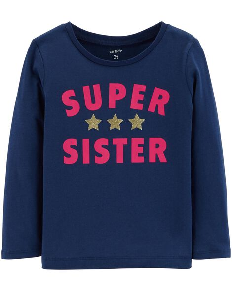 Display product reviews for Glitter Super Sister Tee