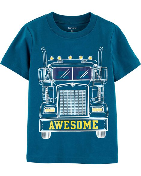Display Product Reviews For Awesome Truck Jersey Tee