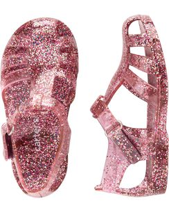db39501eb63 Carter s Glitter Jelly Sandals