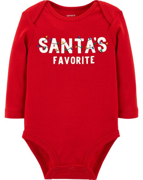 Display product reviews for Santa's Favorite Christmas Bodysuit