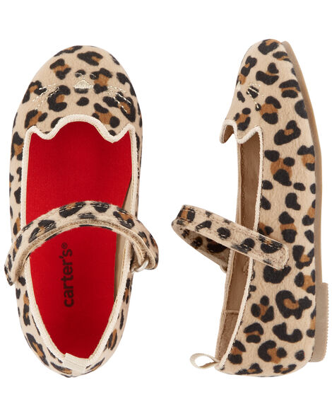 Display product reviews for Carter's Cheetah Ballet Flats
