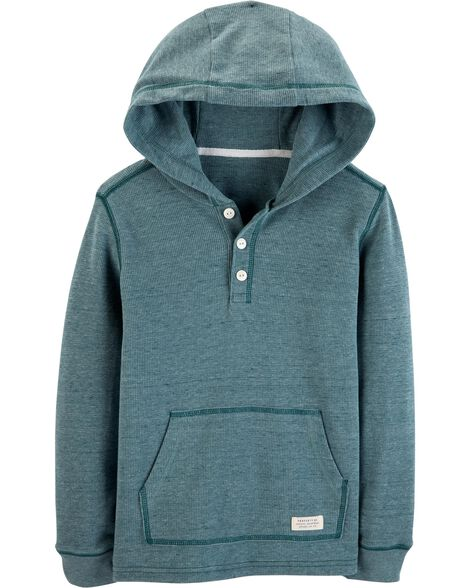 Display product reviews for Hooded Thermal Henley