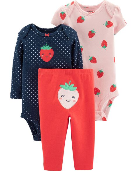 9a71d50efd62f Display product reviews for 3-Piece Strawberry Little Character Set