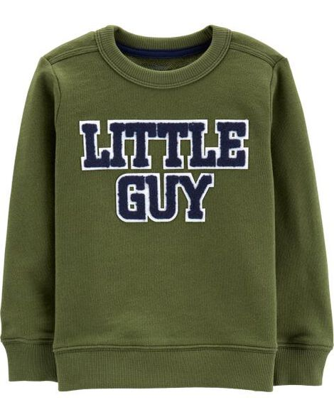 Display product reviews for Little Guy French Terry Pullover