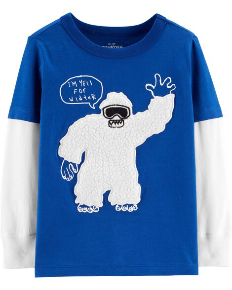 Display product reviews for Layered Look Yeti Tee