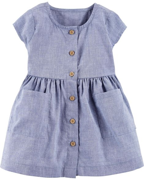 Display product reviews for Certified Organic Dobby Dress