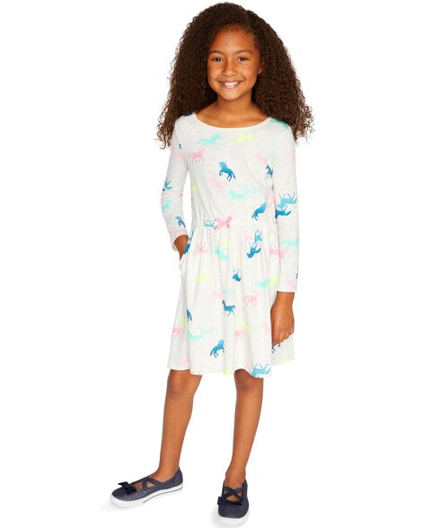 5738621dbe32c Girls' Dresses & Rompers (Size 4-14) | Carter's | Free Shipping